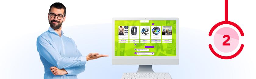 hébergement gratuit de votre chatbot pout site web