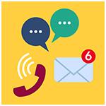 Chatbot prise de contact et live chat