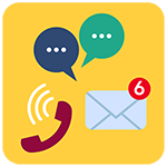 Chatbot contact and live chat